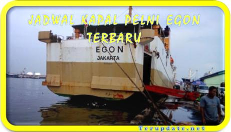 Jadwal Kapal Egon Terbaru