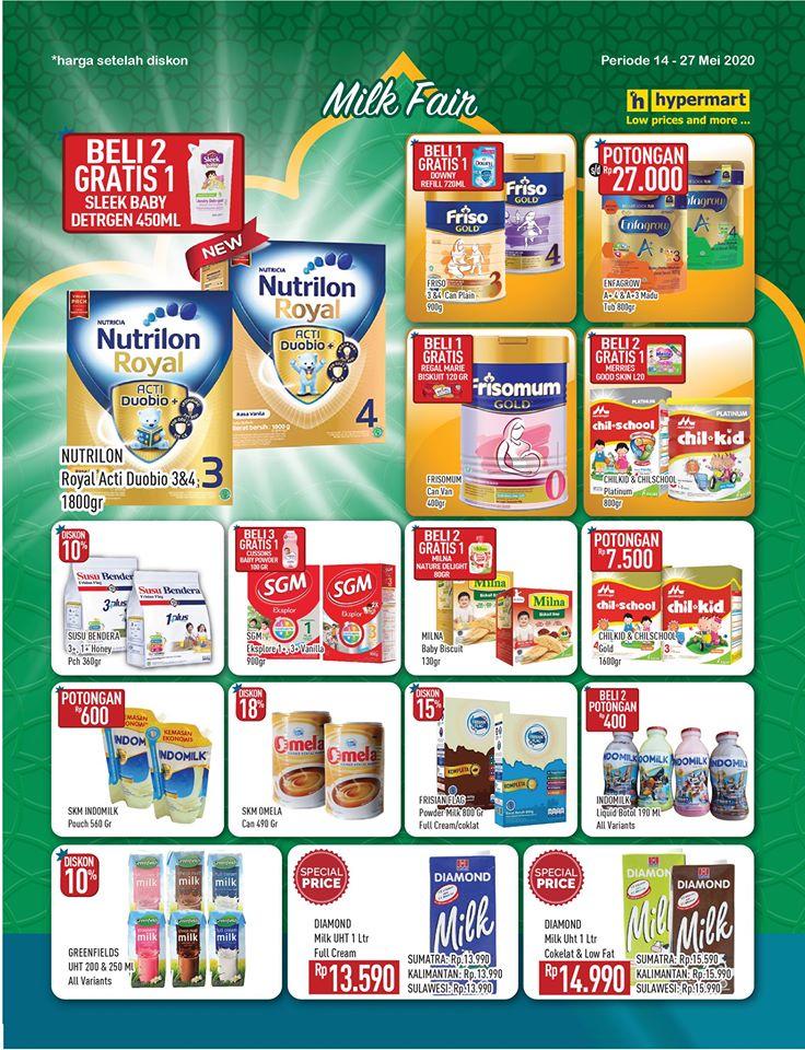 Promo Susu Murah di Hypermart