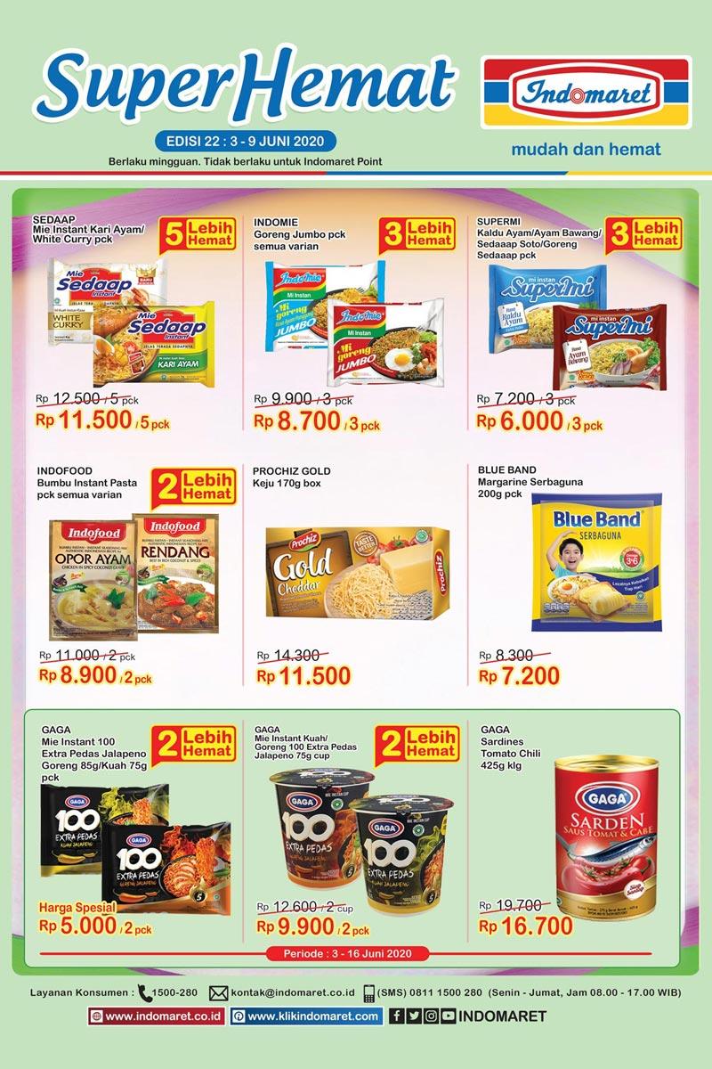Katalog Promo Super Hemat Indomaret Kategori Masak di Dapur 3-9 Juni 2020