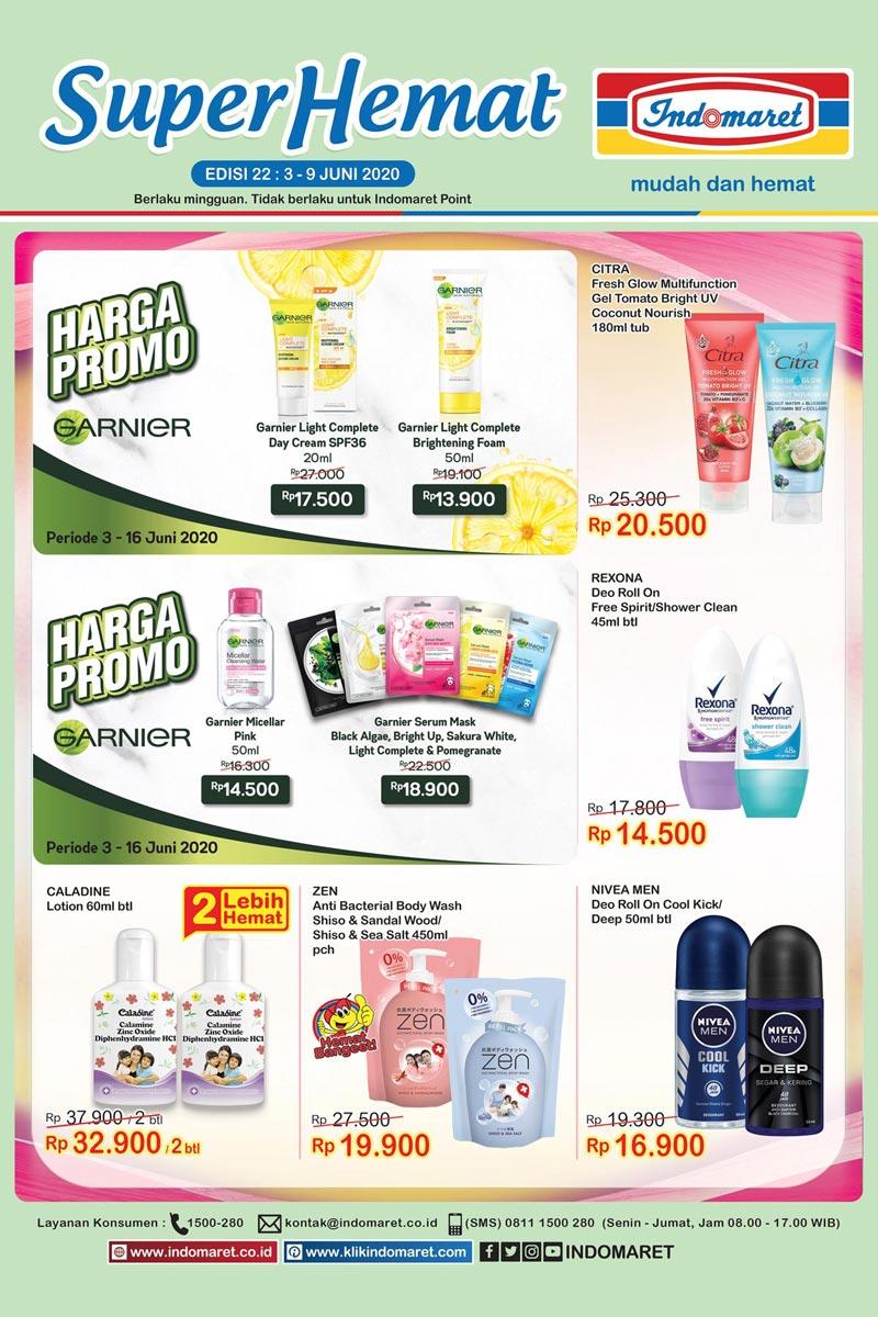 Katalog Promo Super Hemat Indomaret Kategori Cantik di Rumah 3-9 Juni 2020